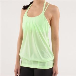 Lululemon Flow and Go II tank in color: Faded Zap